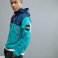 The North Face 1990 Mountain Jacket Hooded In Green/Blue at asos.com