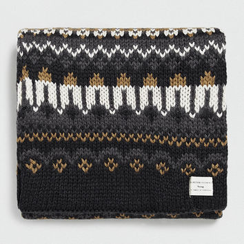 SELECTED HOMME JACQUARD SCARF - TOPMAN USA