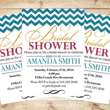 Bridal Shower Invitations and Wedding Shower, bridal shower invites, Miss to Mrs. Wedding Shower Invitation, Miss to Mrs,  Wedding Shower