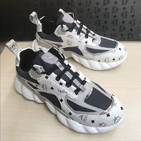 MCM   Women's Men 2020 New Fashion Casual Shoes Sneaker Sport Running Shoes