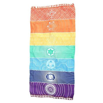 Colorful 7 Chakra Blanket