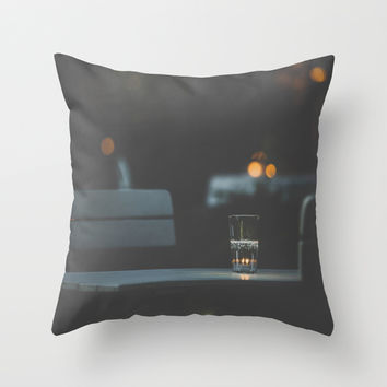 Dateless Throw Pillow by HappyMelvin