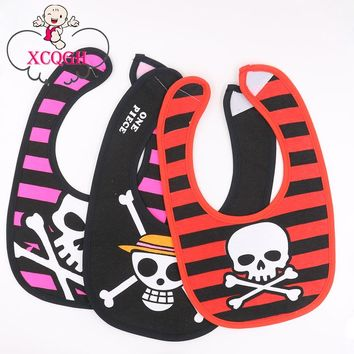 XCQGH Baberos Baby Bibs Bandana Bibs Skull Babero Boy Girl Bib Baby Babador Burp Cloths Towel For Children Feeding