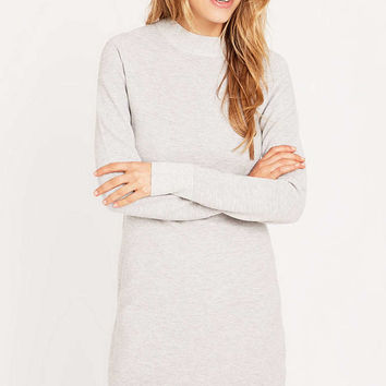 Minkpink Grey Funnel Neck Dress - Urban Outfitters