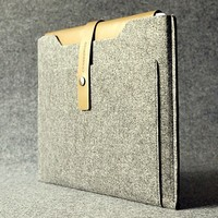 Leather Macbook Air Sleeve