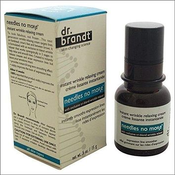 dr. brand needles no more wrinkle smoothing cream, 0.5 fl. oz. / 15 ml