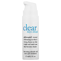Clear Days Ahead™ Fast-Acting Salicylic Acid Acne Spot Treatment - philosophy | Sephora