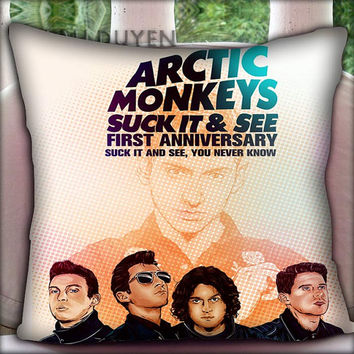 Arctic Monkeys Colorfull - Pillow Cover Pillow Case and Decorated Pillow.