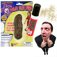 Fart Spray + Fake Poop Combo