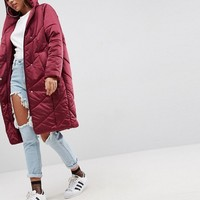 ASOS Clean Parka with Flap at asos.com