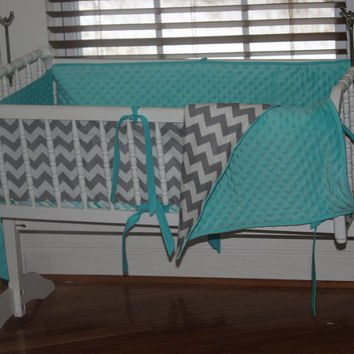 Custom Cradle Bedding, Cradle Sheet, Custom Cradle Set, Chevron