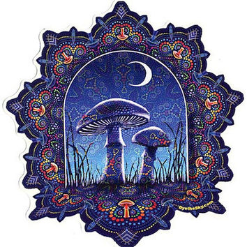 Midnight Mushroom - Sticker