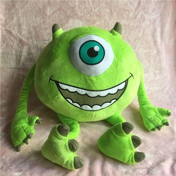 45cm Big Monsters University Mike Cute Soft Stuff Plush Toy Pillow Children Birthday Gift