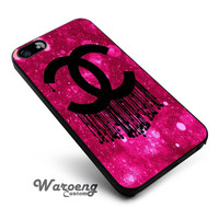 Chanel logo pink iPhone 4s iphone 5 iphone 5s iphone 6 case, Samsung s3 samsung s4 samsung s5 note 3 note 4 case, iPod 4 5 Case