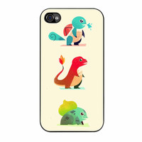 Pokemon Starters Cute iPhone 4s Case