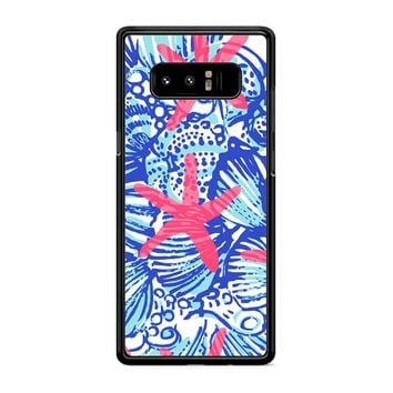 Lilly Pulitzer She She Shells Samsung Galaxy Note 8 Case