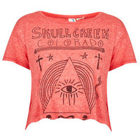 Skull Creek Colorado Crop Tee By Project Social T - Clothing Brands  - Designers