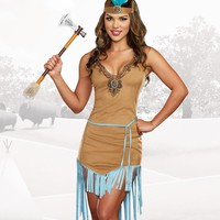 """Native Princess"" Costume"
