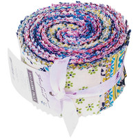 "Jelly Roll, Shelburne Falls by Denyse Schmidt-Design Roll 2.5""X44"" Cuts"