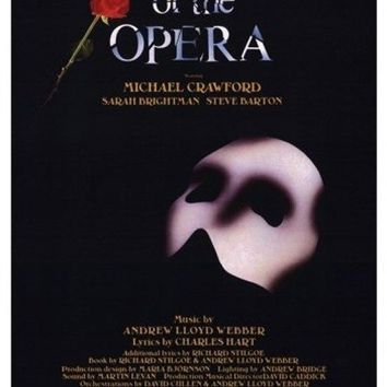 The Phantom of the Opera (Broadway) - style A Movie Poster (11 x 17)