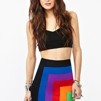 Becka Skirt - Rainbow