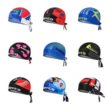 Men Summer Ciclismo Pirate Cap Mountain Bike MTB Riding Headscarf Women Outdoor Sport Cycle Bandana Running Cycling Hat Headwear