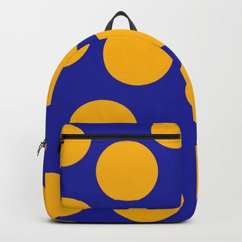 yellow dots Backpack by netzauge