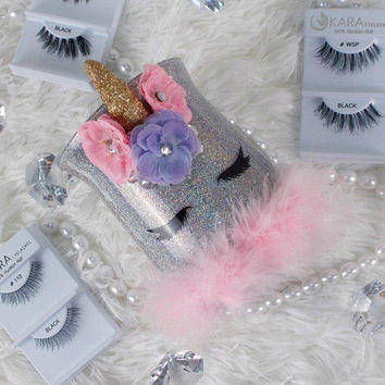 3D Unicorn || Makeup Brush Holder