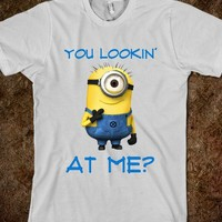 You Lookin' at me? - teeshirttime