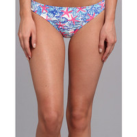 Lilly Pulitzer Surfs Up Bikini Bottom Shorely Blue Mini Chomp Chomp - Zappos.com Free Shipping BOTH Ways