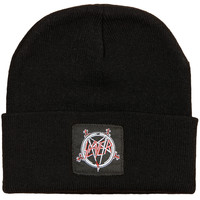 Slayer Men's Pentagram Beanie Beanie Black