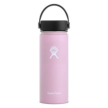 18 oz. Wide Mouth Hydro Flask - Lilac