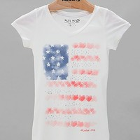 Girls - Miss Me Flag T-Shirt