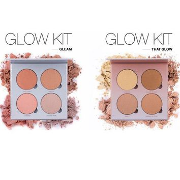 2016 Brand Make Up Anasta ABH Glow Kit Powder GLEAM or THAT GLOW Face Bronzer&Highlighter iluminador maquiagem makeup palette