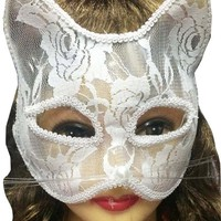 New Halloween Mask Sexy Ladies Lace Fox Cat Eye Mask Party Dance Halloween Ball Masquerade Mask Kids Party Halloween Supplies