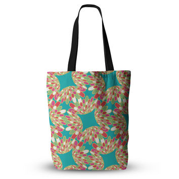 "Miranda Mol ""Wings"" Green Teal Everything Tote Bag"