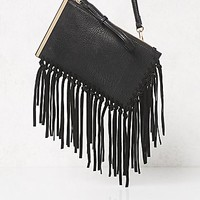 Free People Womens Piper Fringe Wallet