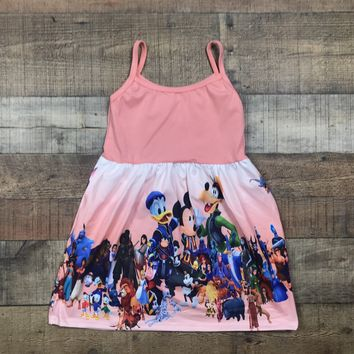 RTS Mouse and Friends Dress