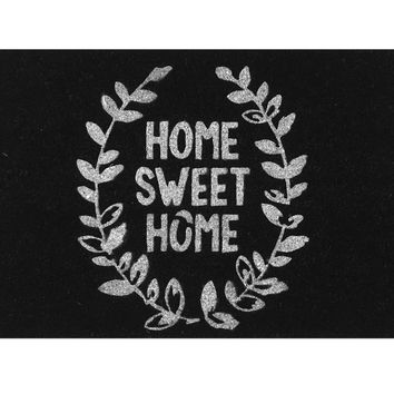 """""""Home Sweet Home"""" Living Room Doormat Kitchen Carpet Floor Stairs Area Non-slip Front Porch Rugs Entryway Mat"""