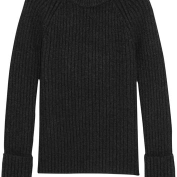 Michael Kors Collection - Ribbed cashmere-blend sweater