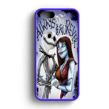 Jack Skellington And Sally Always Forever  iPhone 5 Case iPhone 5s Case iPhone 5c Case