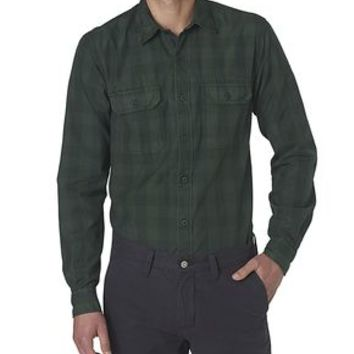 Dockers Wellthread Anchor Poplin Shirt - Green Grove - Men's