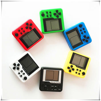 Retro Mini MatchboxTetris Kids Console Game Console Game Players LCD Portable Built-in 26 Games Electronic Educational Toys