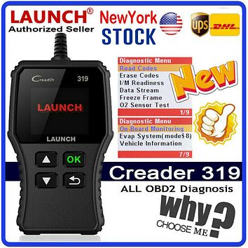 Auto Diagnostic Scanner, Scan tool OBD2 OBDII Fault Code Reader