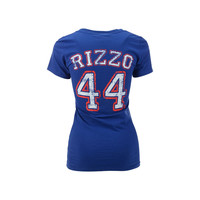 Chicago Cubs Anthony Rizzo MLB Women's Sugar Player T-Shirt