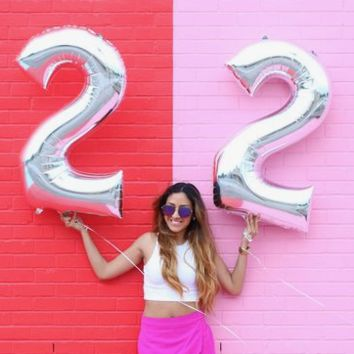 """NUMBERS - 40"""" FOIL BALLOONS"""