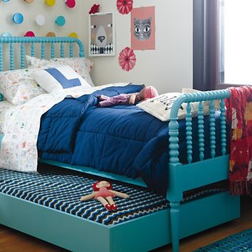 Jenny Lind Kids Bed (Teal) in Beds | The Land of Nod