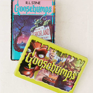 Goosebumps Retro Scream Collection: Limited Edition Tin By R.L. Stine - Urban Outfitters