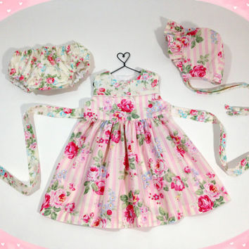 d76db71be2d6 12 month baby girl floral dress baby from LizzyBethBaby on Etsy