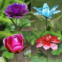 "20"" Metal Flowers (Set of 6) only $34.99 at Garden Fun - What's New!"